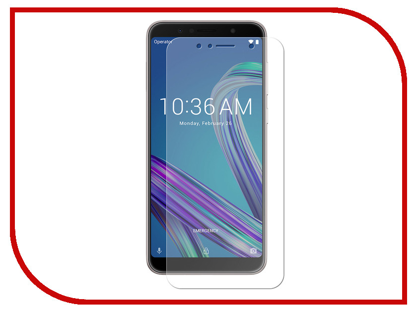 Аксессуар Защитная пленка для ASUS ZenFone Max Pro ZB602KL LuxCase Full Screen Transparent 88711 цена