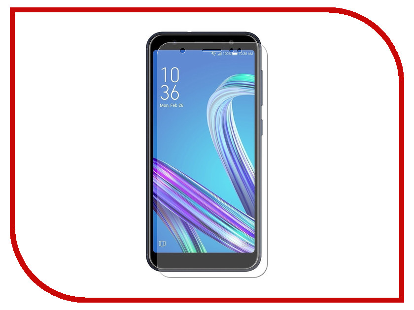 Аксессуар Защитная пленка для ASUS ZenFone Max (M1) ZB555KL LuxCase Full Screen Transparent 89011
