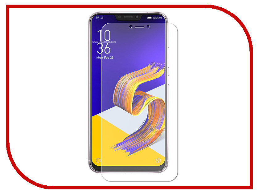 Аксессуар Защитная пленка для ASUS ZenFone 5Z ZS620KL LuxCase Full Screen Front&Back Transparent 88710 elonbo stylish decorative full front screen protector back skin sticker set for iphone 5 violet
