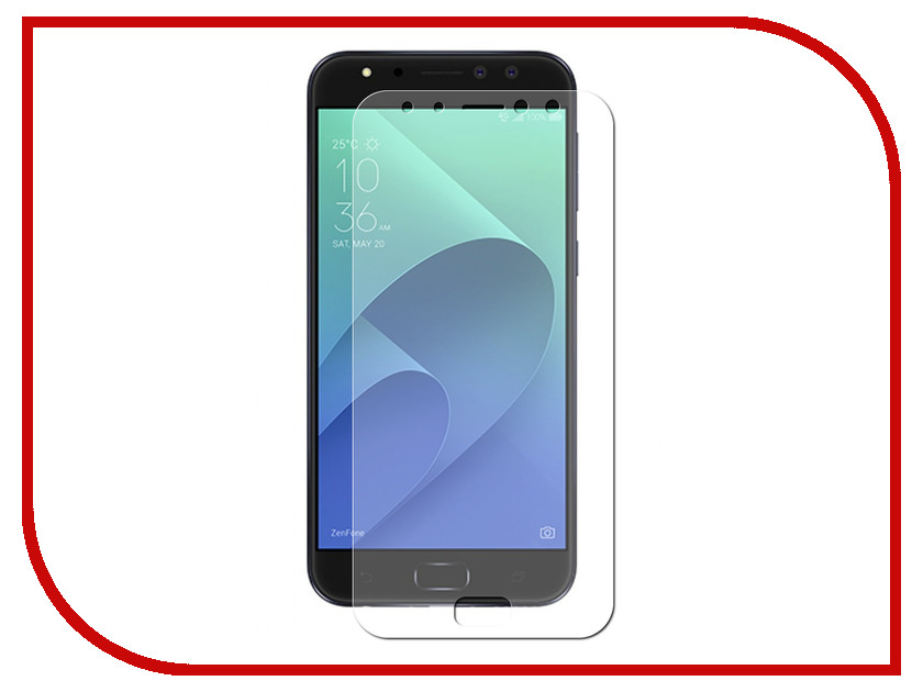 Аксессуар Защитная пленка для ASUS ZenFone 4 Selfie Pro ZD552KL LuxCase Full Screen Transparent 88937 защитная плёнка для asus zenfone 3 ze520kl front