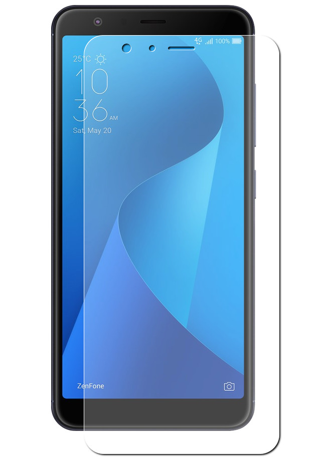 Аксессуар Защитная пленка LuxCase для ASUS ZenFone MAX Plus ZB570TL Full Screen Transparent 88962 аксессуар защитное стекло для asus zenfone max plus m1 zb570tl caseguru 0 33mm full screen black 103161