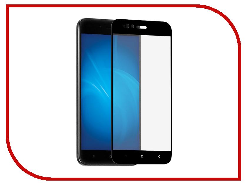 Аксессуар Защитное стекло для Xiaomi Mi A1 LuxCase 2.5D Full Glue Black Frame 77857 аксессуар защитное стекло для huawei y5 2018 luxcase 2 5d full screen full glue black frame 77876