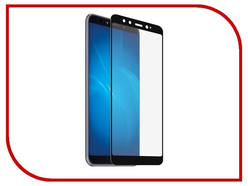 Аксессуар Защитное стекло для Xiaomi Mi A2 LuxCase 2.5D Full Glue Black Frame 77887 аксессуар защитное стекло для xiaomi mi a2 mi6x svekla full screen white zs svximia2 fswh