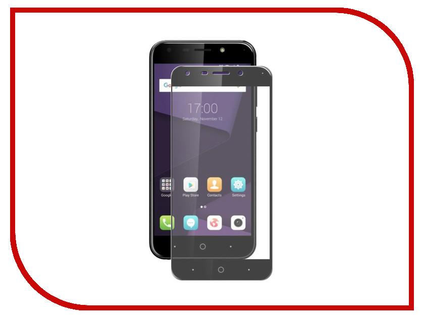 Аксессуар Защитное стекло для ZTE A6 LuxCase 2.5D Full Glue Black Frame 77992 аксессуар защитное стекло luxcase full screen для apple iphone x 2 5d black frame 77814