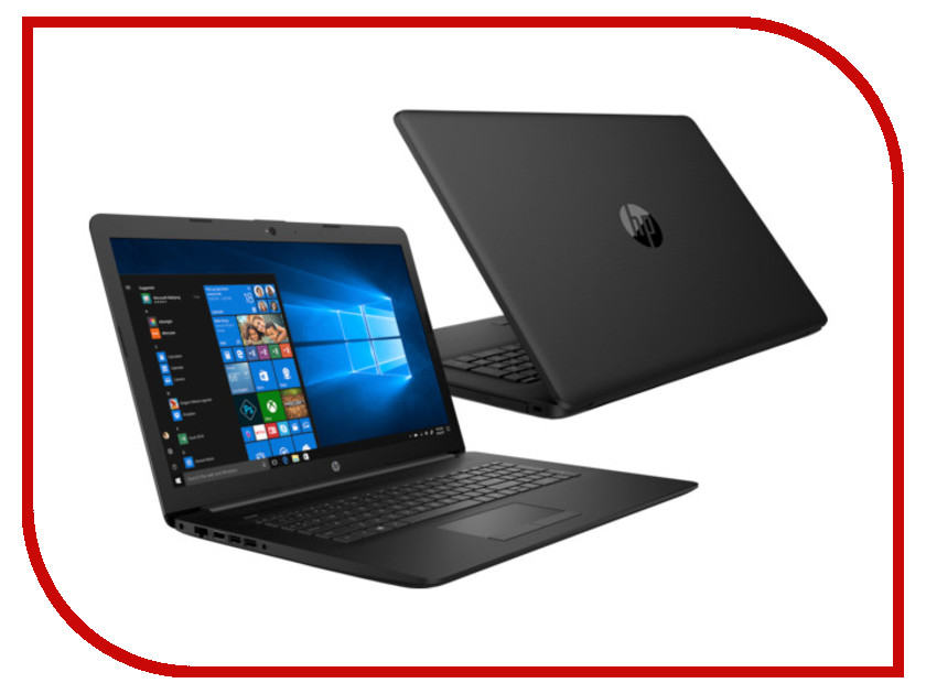 Ноутбук HP 17-ca0020ur 4JZ41EA Black (AMD Ryzen 3 2200U 2.5GHz/8192Mb/1000Gb/DVD-RW/AMD Radeon 530 2048Mb/Wi-Fi/Bluetooth/Cam/17.3/1600x900/DOS) ноутбук hp 255 g5 w4m74ea amd e2 7110 1 8 ghz 2048mb 500gb dvd rw amd radeon r2 wi fi bluetooth cam 15 6 1366x768 dos