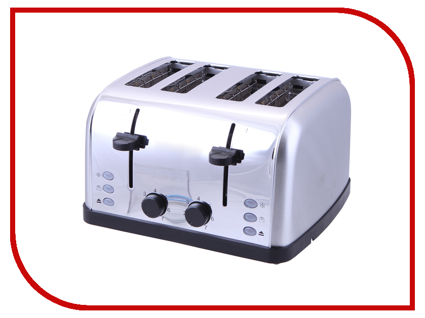 Тостер Kitfort KT-2016 Silver кофеварка kitfort kt 706