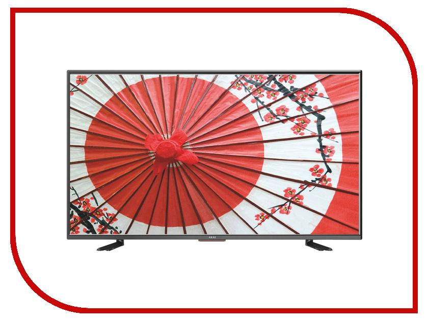 Телевизор Akai LEA-39Z72Т-T2 телевизор 39 akai lea 39z72т hd 1366x768 титановый