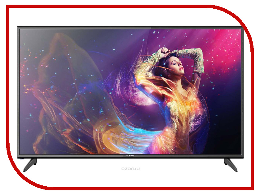 Телевизор Fusion FLTV-50B100T телевизор жк fusion fltv 32k120t 32