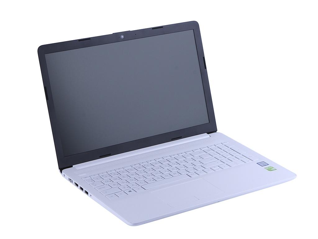 Ноутбук HP 15-da0116ur White 4KH56EA (Intel Core i5-8250U 1.6 GHz/8192Mb/1000Gb/nVidia GeForce MX110 2048Mb/Wi-Fi/Bluetooth/Cam/15.6/1366x768/Windows 10 Home 64-bit)
