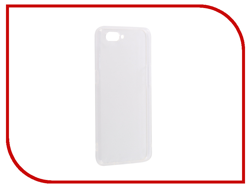 Аксессуар Чехол для OPPO A3s DF Silicone Super Slim Transparent oCase-03