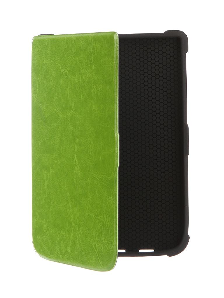 Аксессуар Чехол TehnoRim для PocketBook 616/627/632 Slim Green TR-PB616-SL01GR