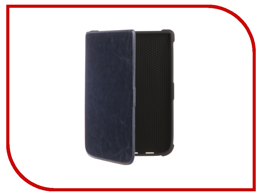 Аксессуар Чехол for PocketBook 616/627/632 TehnoRim Slim Dark Blue TR-PB616-SL01DBLU