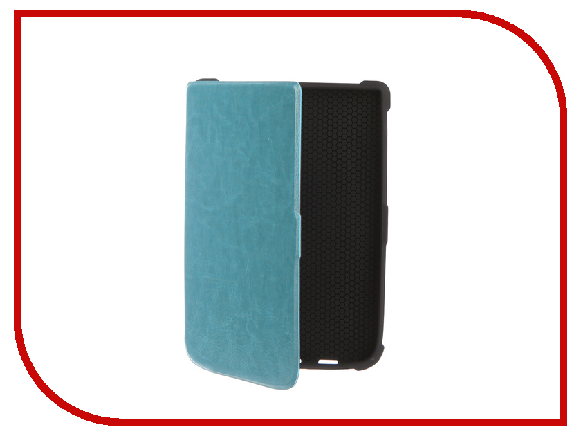 Аксессуар Чехол for PocketBook 616/627/632 TehnoRim Slim Light Blue TR-PB616-SL01BLU аксессуар чехол for pocketbook 626 tehnorim origami black tr pb626 or01bl