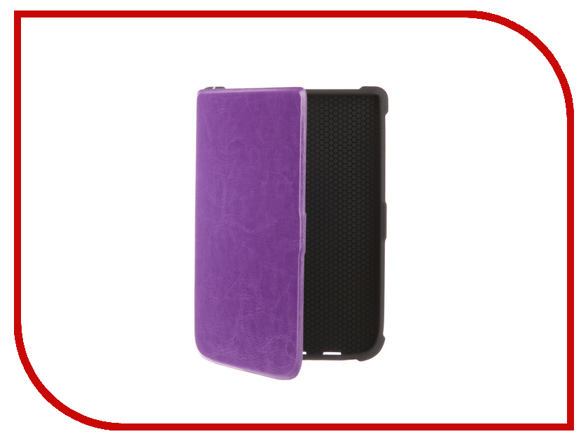 Аксессуар Чехол for PocketBook 616/627/632 TehnoRim Slim Purple TR-PB616-SL01PR