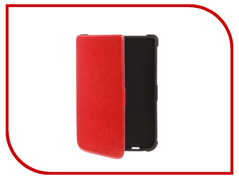 Аксессуар Чехол for PocketBook 616/627/632 TehnoRim Slim Red TR-PB616-SL01RD
