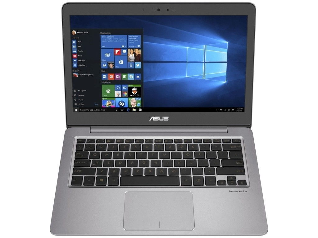 Ноутбук ASUS U310UA 90NB0CJ1-M17870 Quartz Grey (Intel Core i3-7100U 2.4 GHz/4096Mb/256Gb SSD/No ODD/Intel HD Graphics/Wi-Fi/Cam/13.3/1920x1080/Windows 10 64-bit) цены