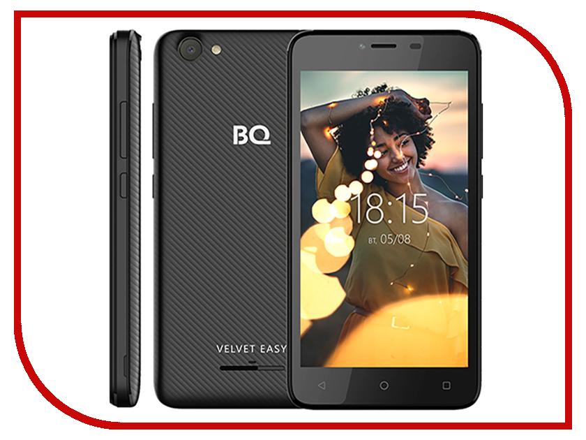 купить Сотовый телефон BQ 5000G Velvet Easy Black онлайн