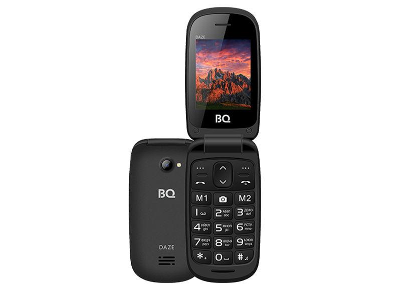 Сотовый телефон BQ BQ-2437 Daze Black daze 16505z 1 3f