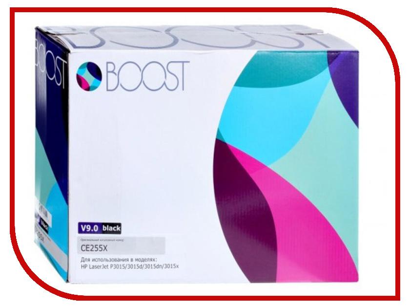 Картридж Boost CE255X V9.0 для HP LJP3015