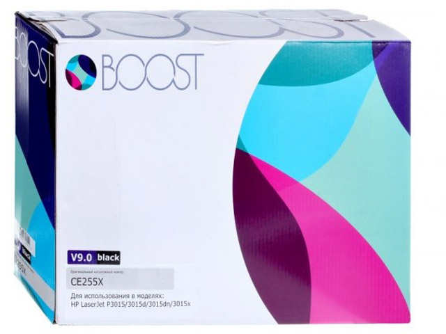 Картридж Boost CE255X V9.0 для HP LJP3015 highscreen boost 2 se