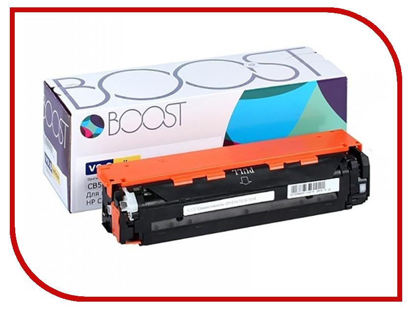 Картридж Boost CB542A V9.0 для HP CLJCP1215/1518 Yellow