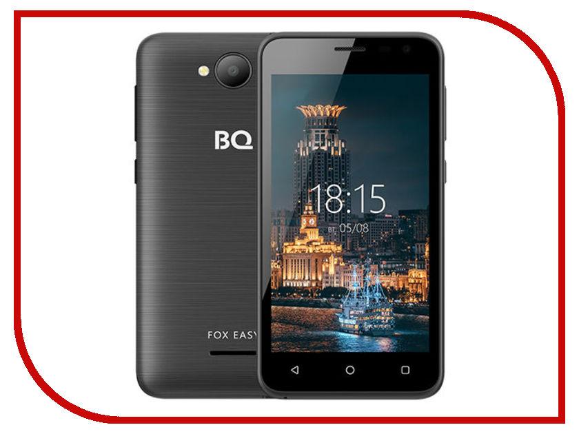 Сотовый телефон BQ 4501G Fox Easy Black цена 2017