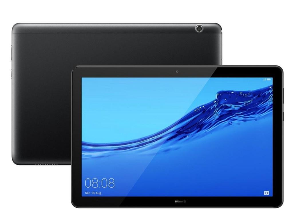 Планшет Huawei MediaPad T5 10 LTE 16Gb AGS2-L09 Black 53010DLM (Kirin 659 2.36GHz/2048Mb/16Gb/LTE/Wi-Fi/Bluetooth/Cam/10.1/1920x1200/Android) huawei mediapad t3 lte 10 16gb [ags l09] gold huawei