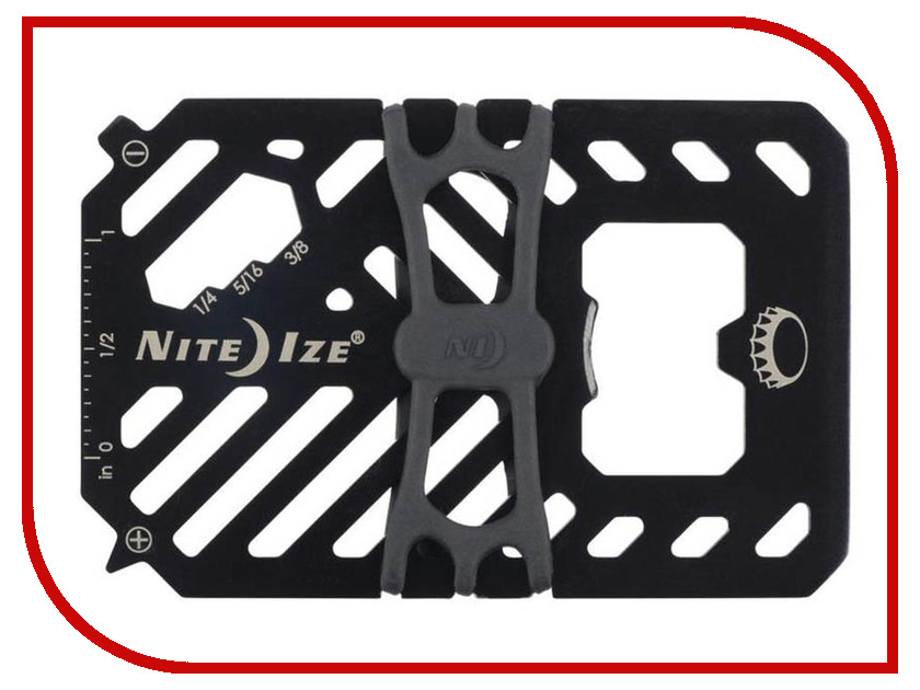 Мультитул Nite Ize Financial Tool V2 FMT2-01-R7 Black