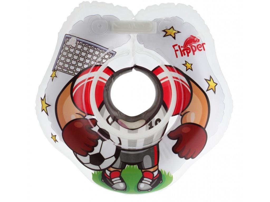 Надувной круг на шею для купания малышей Roxy-Kids Flipper FL010