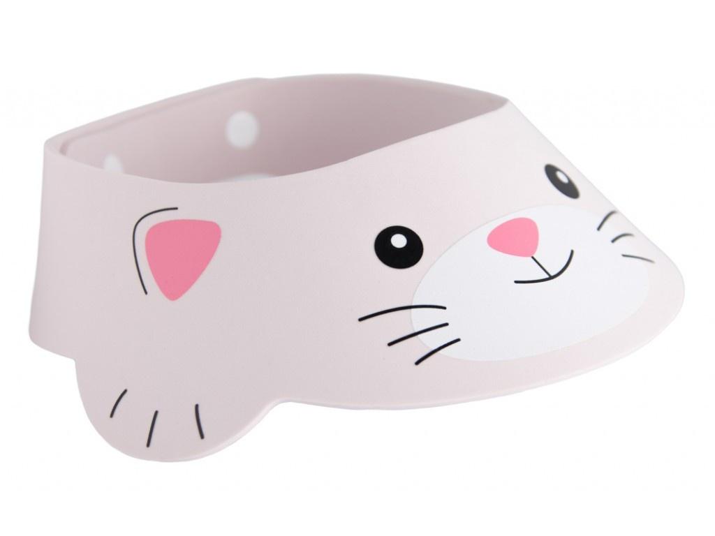 Козырек для мытья головы Roxy-Kids RBC-492-GY Котёнок Grey детский ковшик roxy kids для мытья головы dino scoop фиолетовый