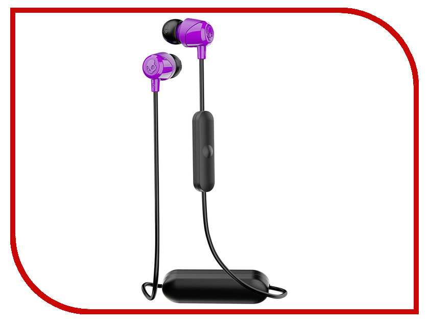 Skullcandy Jib Wireless W/Mic S2DUW-K082 Purple skullcandy jib in ear w o mic s2dudz 072 white