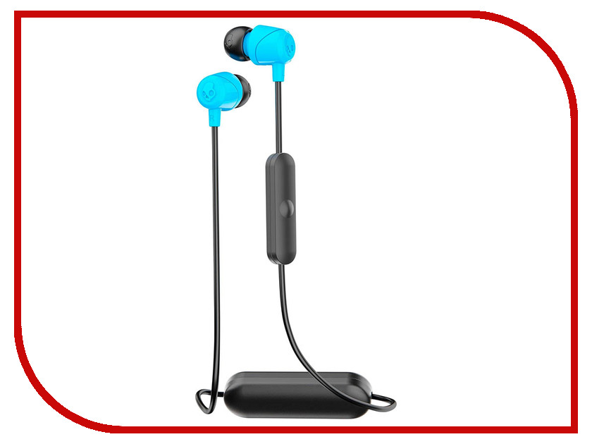 Skullcandy Jib Wireless W/Mic S2DUW-K012 Blue skullcandy jib in ear w o mic s2dudz 072 white