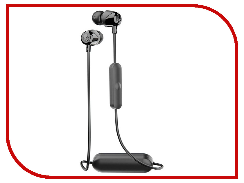 Skullcandy Jib Wireless W/Mic S2DUW-K003 Black skullcandy jib in ear w o mic s2dudz 072 white