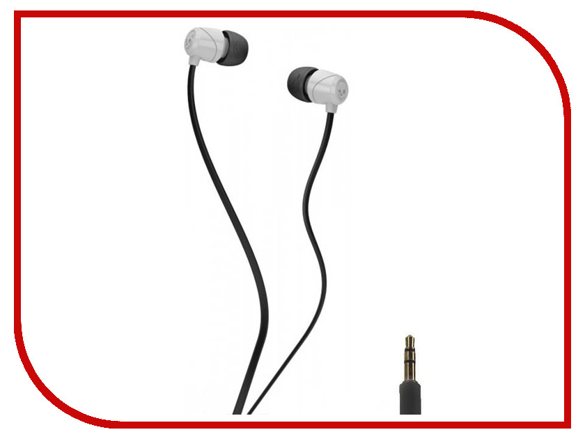 Skullcandy Jib In-Ear W/O Mic S2DUDZ-072 White skullcandy jib in ear w o mic s2dudz 072 white