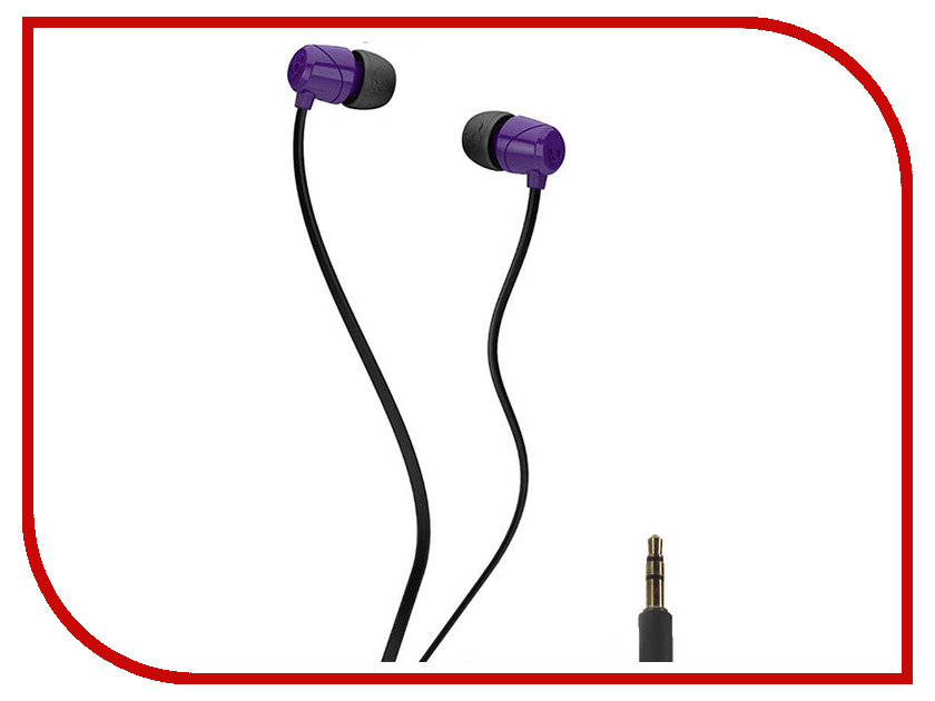 Skullcandy Jib In-Ear W/O Mic S2DUDZ-042 Purple skullcandy jib in ear w o mic s2dudz 072 white