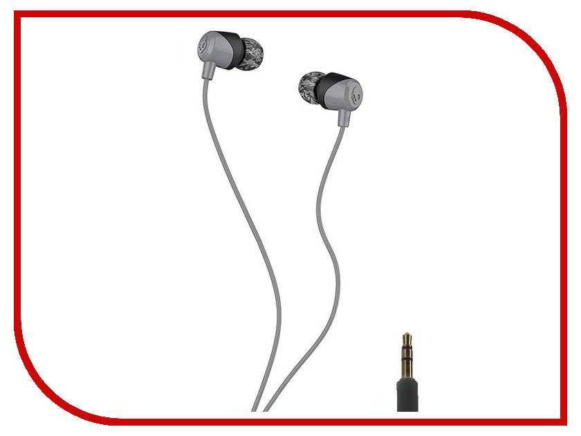 Skullcandy Jib In-Ear W/O Mic S2DUJZ-522 Black-Grey конструктор игровой mic o mic погрузчик