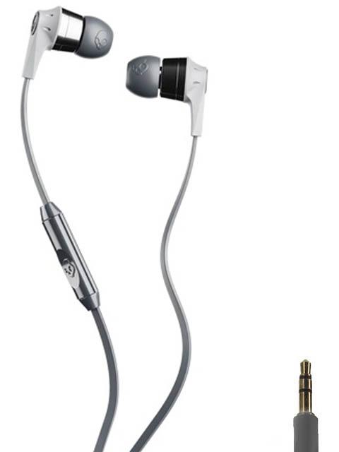 лучшая цена Skullcandy Ink D 2.0 In-Ear W/Mic Grey-Silver S2IKY-K610