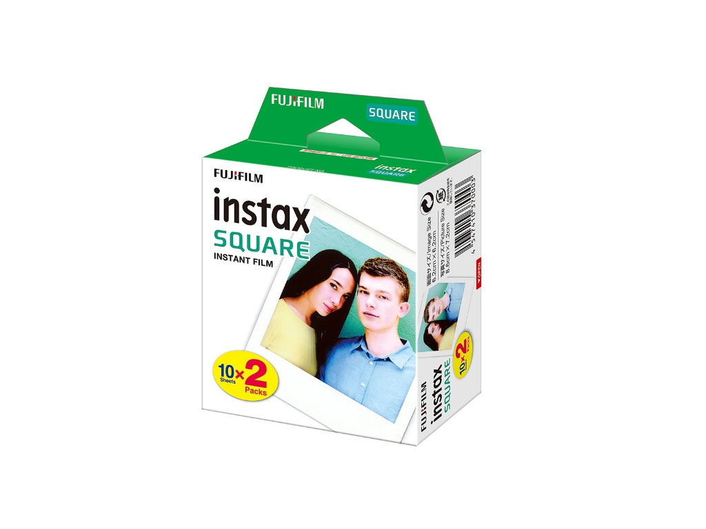 Fujifilm Colorfilm Square Film WW2 20/2PK для Instax SQ6/SQ10/SQ20/Instax Share SP-3 16576520
