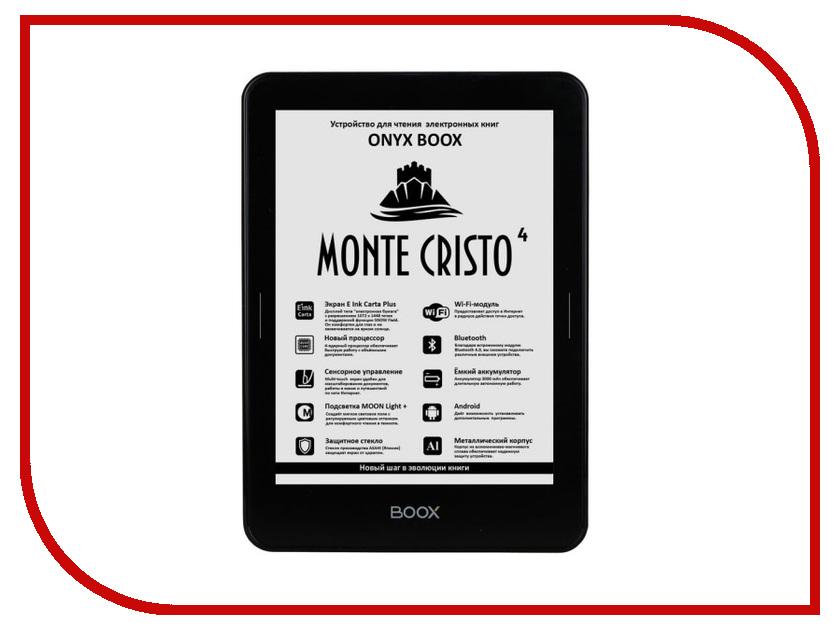 Электронная книга ONYX BOOX Monte Cristo 4 count of monte cristo level 3 mp3 cd