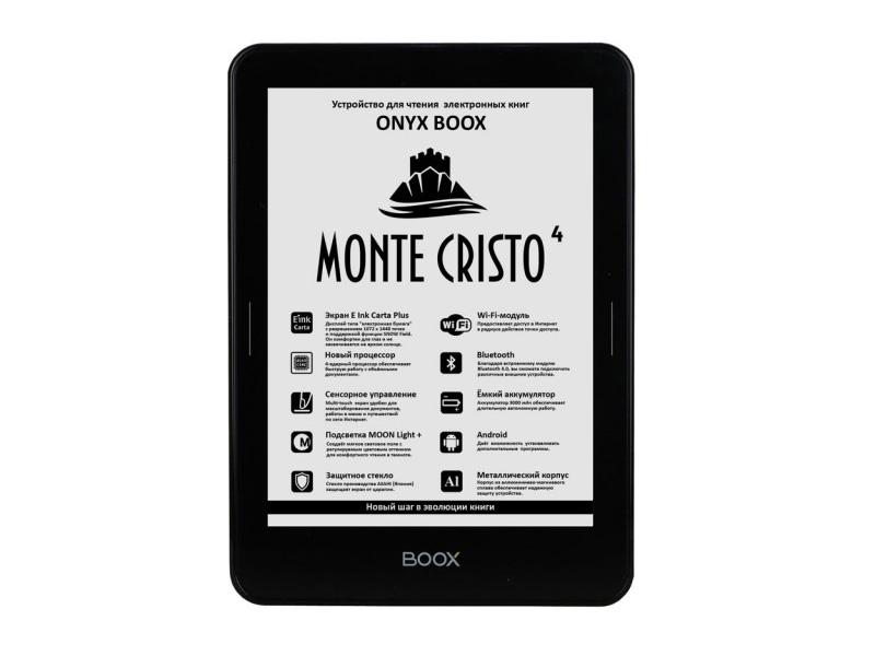 Электронная книга ONYX BOOX Monte Cristo 4 monte cristo