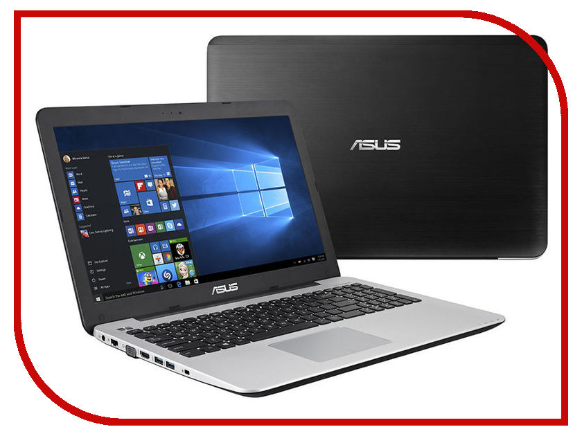 Zakazat.ru: Ноутбук ASUS VivoBook X555QG-DM114T 90NB0D42-M04490 Black (AMD A12-9700P 2.5 GHz/8192Mb/1000Gb/AMD Radeon R5 M430 2048Mb/Wi-Fi/Bluetooth/Cam/15.6/1920x1080/Windows 10 64-bit)