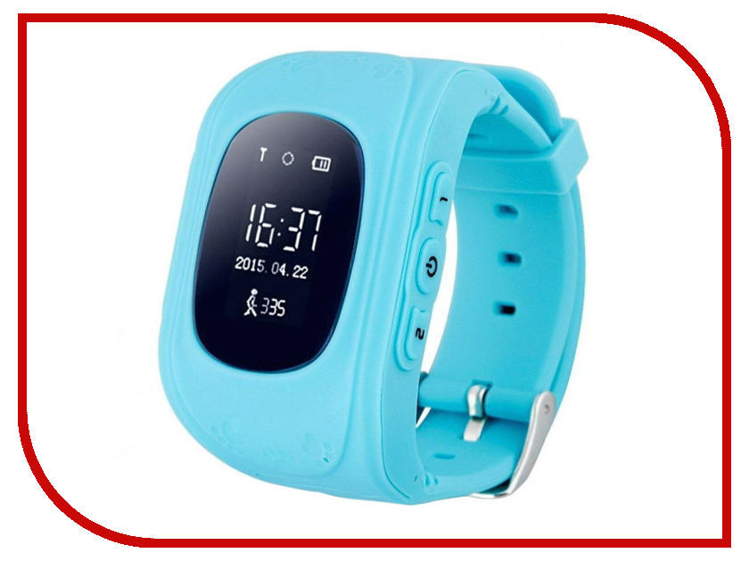 Wokka Q50 Light Blue q50 smart watch blue
