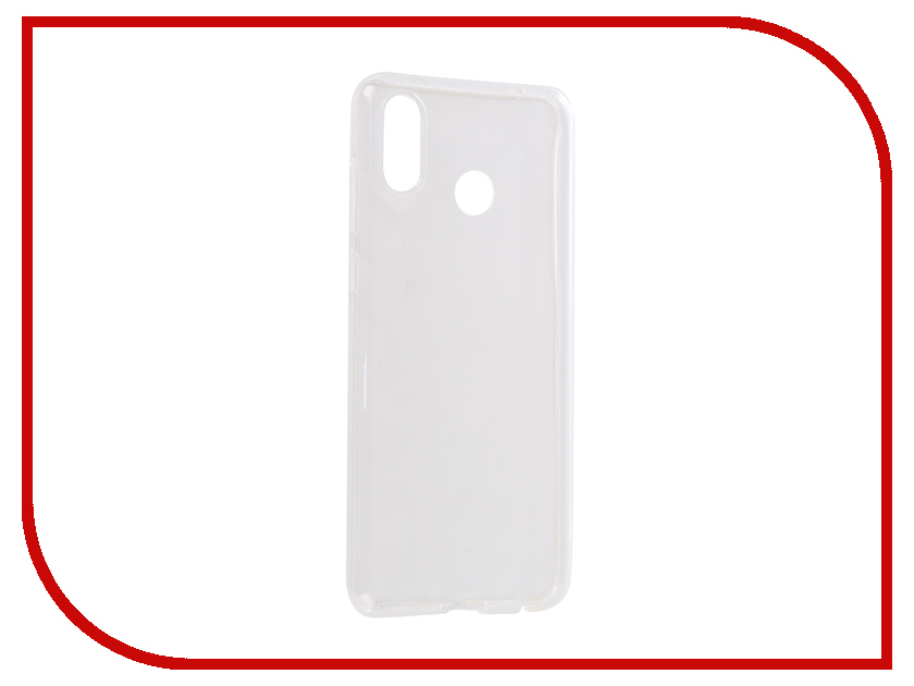 Аксессуар Чехол для Huawei Honor Play 2018 Zibelino Ultra Thin Case White ZUTC-HUA-PLY-WHT moskii brand ultra thin pc shield case cover for huawei mate7