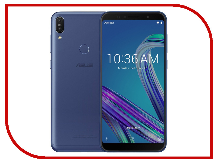 Сотовый телефон ASUS ZenFone Max Pro (M1) ZB602KL 64Gb Blue