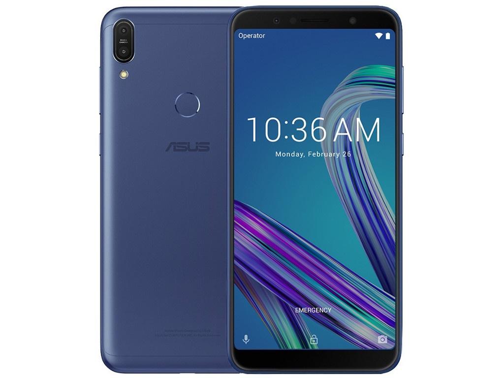 Сотовый телефон ASUS ZenFone Max Pro M1 ZB602KL 64Gb Blue цена