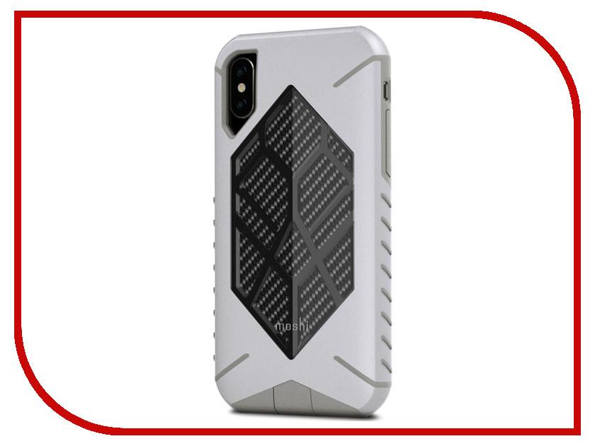 Аксессуар Чехол Moshi Talos для APPLE iPhone X Admiral Grey 99MO086011 moshi armour чехол для iphone 6 6s gray