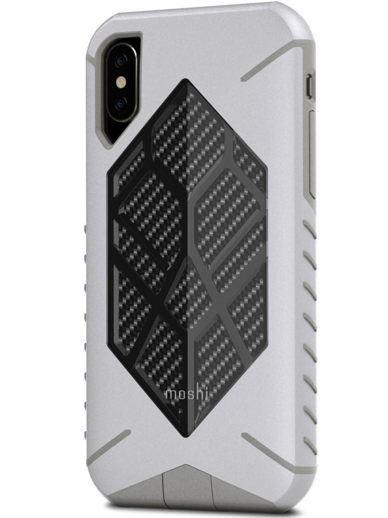 Аксессуар Чехол Moshi для APPLE iPhone X Talos Admiral Grey 99MO086011 цены