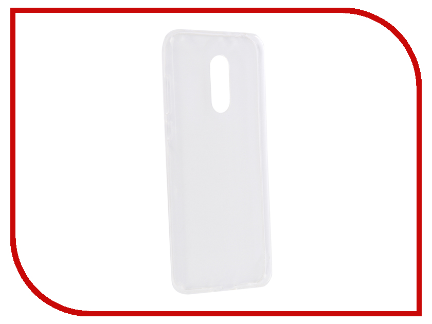 Аксессуар Чехол для Xiaomi Redmi 5 Plus Liberty Project Silicone TPU Transparent 0L-00039129