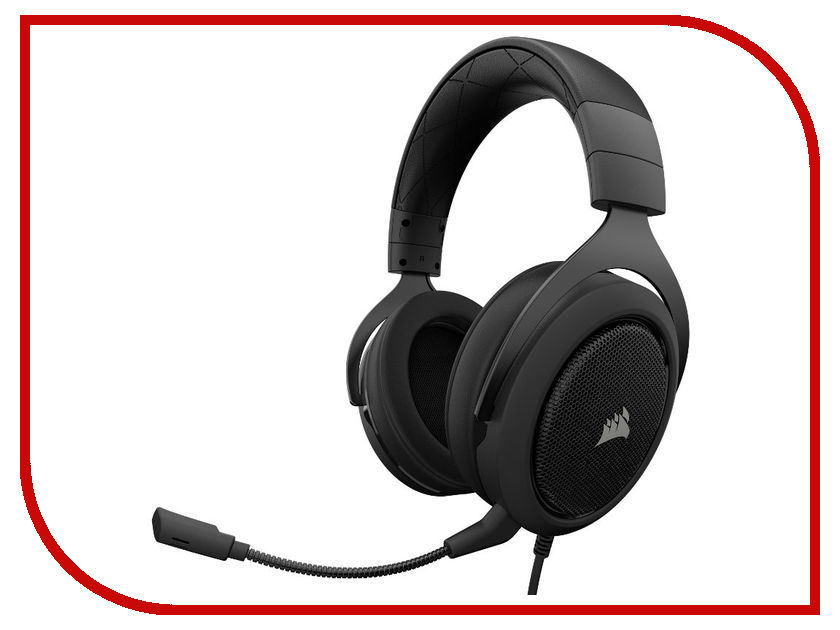 Corsair HS50 Stereo Gaming Headset Carbon CA-9011170-EU