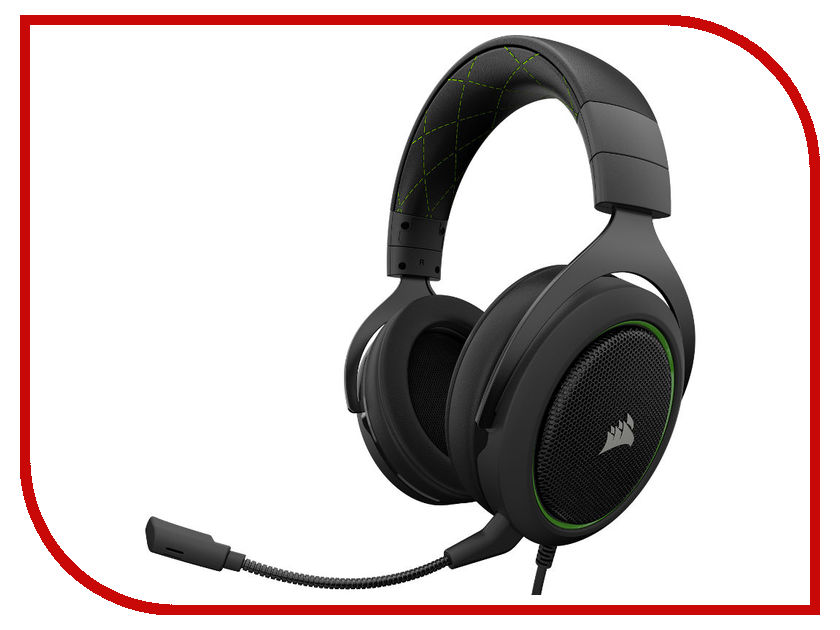 Corsair HS50 Stereo Gaming Headset Green CA-9011171-EU